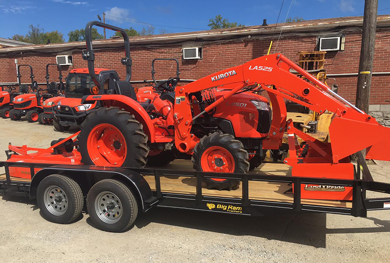 Kubota L2501 Tractor Package At Coleman Tractor Company