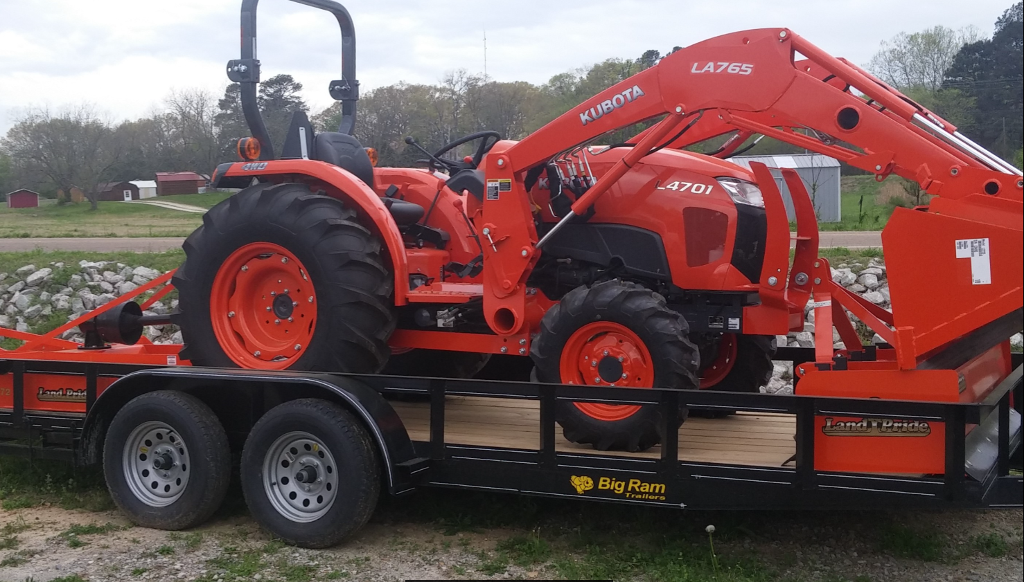 Kubota L4701 Tractor Package Deal  Coleman Tractor Company